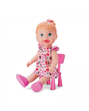 Boneca Lanchinho - My Liltte Collection - Divertoys-205781215